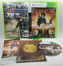 Fable III (3) - Microsoft Xbox 360  Includes KEY Manual TESTED CIB 100% Complete