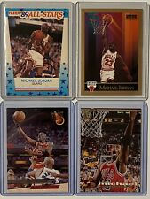 Michael Jordan Lot(4). '89 Fleer #3/'90 Skybox #41/93-94 Fleer #30/'94 TSC #181.