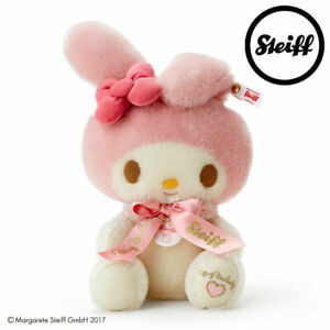 Limited edition 600 Sanrio My Melody Steiff Plush Very Rare Good Condition Toy