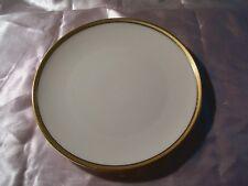 Lenox Plate Serving Windsor M-161 USA Ivory Gold Band Gold Stamp EUC