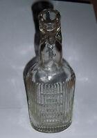 2St. uralt Glasflasche MAX ELB Dresden 1900 INTERESSANT Enghalsflasche Flasche