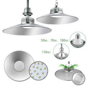 50W 100W 150W LED Hallenleuchte Hallenbeleuchtung Industrielampe High Bay Licht