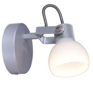 Industria LED 5W Wandspot Deckenstrahler 1-flg. in Aluminium