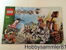 Lego® 7040 Castle Bauanleitung Verteidigung der Zwergenmine