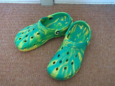 Airwalk Yellow And Green Beach Shoes Size 6 BNWOT Norwich City Colours