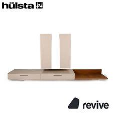 hülsta Holz Sideboard Weiß