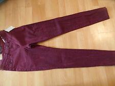 Maison Scotch Cool jeans la Voyage burdeos talla 27/32 nuevo 216