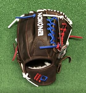 "Nokona X2 Elite Youth 11.25"" Baseball Glove X2-200POP Red White Blue"