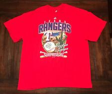 MLB Baseball Texas Rangers Spring Training Cactus League Majestic Shirt 2XL