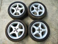 4 Alufelgen RH Mazda 323 MX5 7x15 ET37 Sommerräder Hankook 195 50 15 _GKS6
