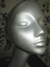 60s 70s RESIN SWAN NECK MANNEQUIN DISPLAY HEAD