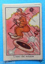 figurines figurine umoristiche anni 30 40 v.a.v. vav l'asso del volante motoring