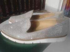 Neue Paul Green Schuhe Slipper 1689-047 sabbia/Royal-Suede (beige) Gr.40,5 UK 7