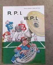 WPI (MA) @ RPI (NY) COLLEGE FOOTBALL PROGRAM - 1950 - WILLARD MULLIN COVER