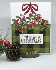 Stampin Up Card Kit Christmas Mistletoe