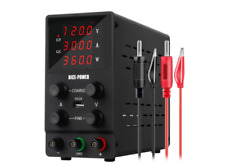 Nice Power Variable Bench Power Supply 0 120v 0 3a 4digital Lcd Display Dc