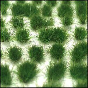 Medium Green Static Grass Tufts (2mm, 4mm, 6mm)