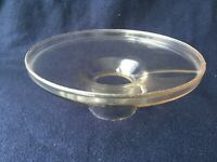 Clear Glass Shade Holder Pat.Oct.3.76 1876 Antique Oil Lamp Globe Holder
