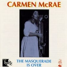 Carmen McRae - The Masquerade Is Over (CD 2001) New