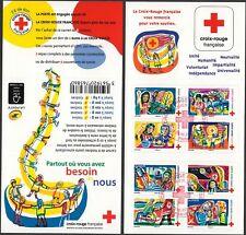 Carnet BC1422 Croix Rouge de 2017 obli 1er jour non plié LUXE