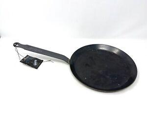 De buyer Carbon Steel Frying Pan Traditional French Handle W/ Storage Wear