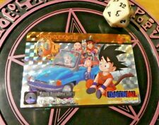 DRAGON BALL Z CARDDASS RARE SPECIAL CARD PRISM FOIL CARTE 1 MADE IN JAPAN MINT