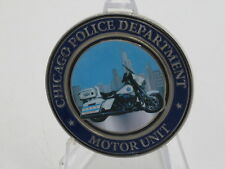 Chicago Police Department Motor Unit Challenge Coin