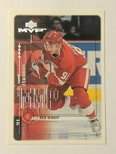 1998-99 Upper Deck MVP #68 Sergei Fedorov Detroit Red Wings Hockey Card