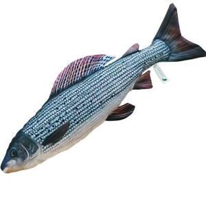 Gaby Grayling Fish Pillow