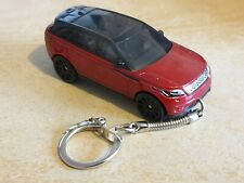 Diecast Range Rover Velar Red Toy Car Keyring / Keychain FREEPOST