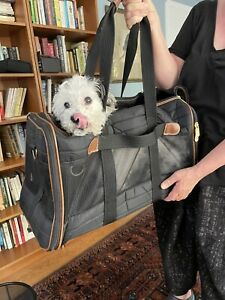Sherpa Original Deluxe Airline Approved Pet Carrier, Large, Black 11x12x19 $89