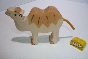 HOLZTIGER Kamel auch als Krippenfigur  für die  Krippe TOP
