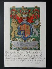 Coats of Arms UNITED KINGDON of GREAT BRITAIN & IRELAND c1904 C.W. Faulkner 53d