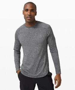 lululemon fresh form long sleeve shirt Large grey