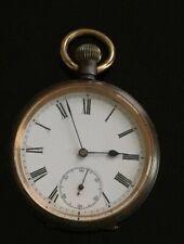 Vintage Omega Gunmetal Pocket Watch c.1900 / montre gousset