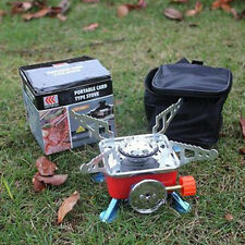 Outdoor Mini Portable Camping Hiking BBQ Picnic Stove Gas Cooker Burner Foldable