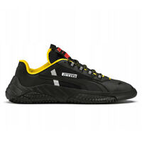 PUMA Men's Replicat x Pirelli Puma Black/Cyber Yellow Sneakers 33985501 NEW!