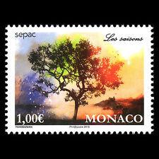 "Monaco 2016 - SEPAC Issue ""The Four Seasons"" Flora - MNH"