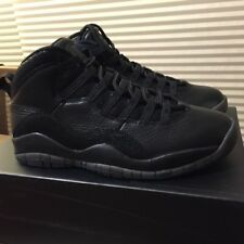 BRAND NEW IN BOX NIKE AIR JORDAN 10 OVO BLACK SIZE 9. 100% AUTHENTIC 9522437be7
