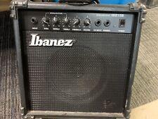 Vintage Ibanez Ibz15b Bass Amp, practice amp, with power cord