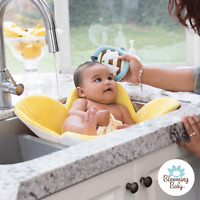 Blooming Bath, Bee Scrubbie, Package Free, Soft, Cute, Baby Washcloth, Bathtime
