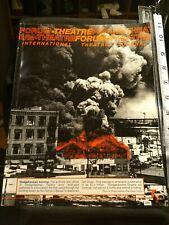 Theatreforum  International Theatre Journal Issue # 1 Spring 1992 Theodore Shank