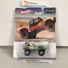 Custom Ford Bronco * OFFROAD Racing Hot Wheels * WB19