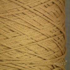 PERUVIAN PIMA COTTON YARN 4 PLY / DK 500g CONE 10 BALLS BROWN DK DOUBLE KNITTING
