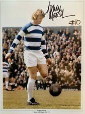 Signed Rodney Marsh Queens Park Rangers Autograph Photo QPR