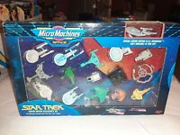 STAR TREK MICRO MACHINES 16 VESSELS LIMITED EDITION COLLECTOR'S SET 1993 NEW