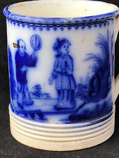 Rare tasse au Chinois Vieillard Bordeaux Johnston Antique Chinese Mug French XIX