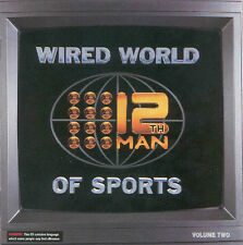 THE 12TH MAN Wired World Of Sports Volume Two 2CD NEW Cricket Comedy Vol 2