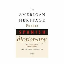The American Heritage Pocket Spanish Dictionary, Editors of The American Heritag