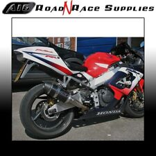 Honda CBR 900RR 954 FIREBLADE A16 Stubby Carbon Exhaust with Carbon Cap Outlet